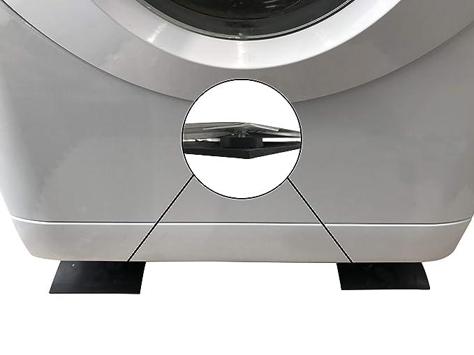 Tiras antivibraciones para lavadora 60 cm x 14 cm x .5 cm de goma ...