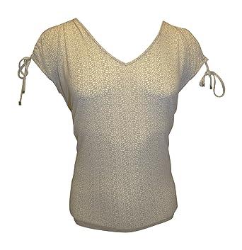 b81e550fa69991 Ivanka Trump Women s Printed Cold-Shoulder Matte Jersey Top at ...