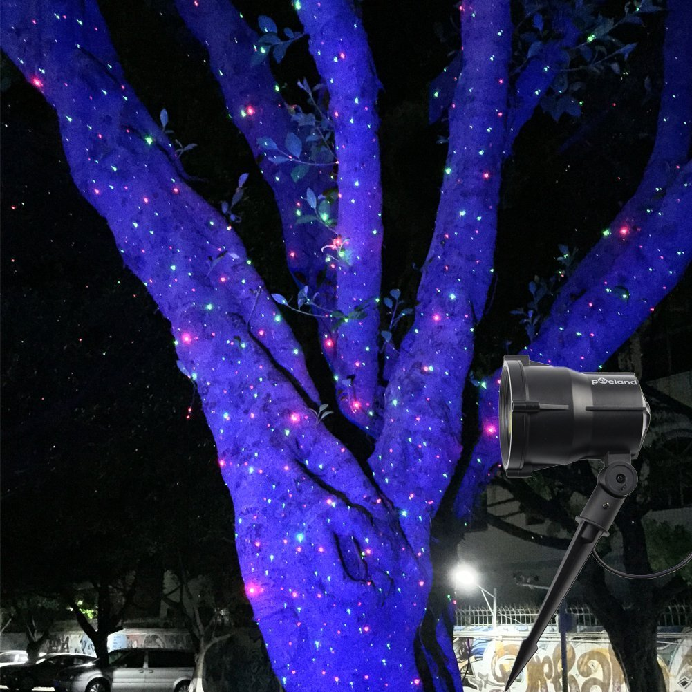 Amazoncom Poeland Outdoor Star Projector Lights Moving