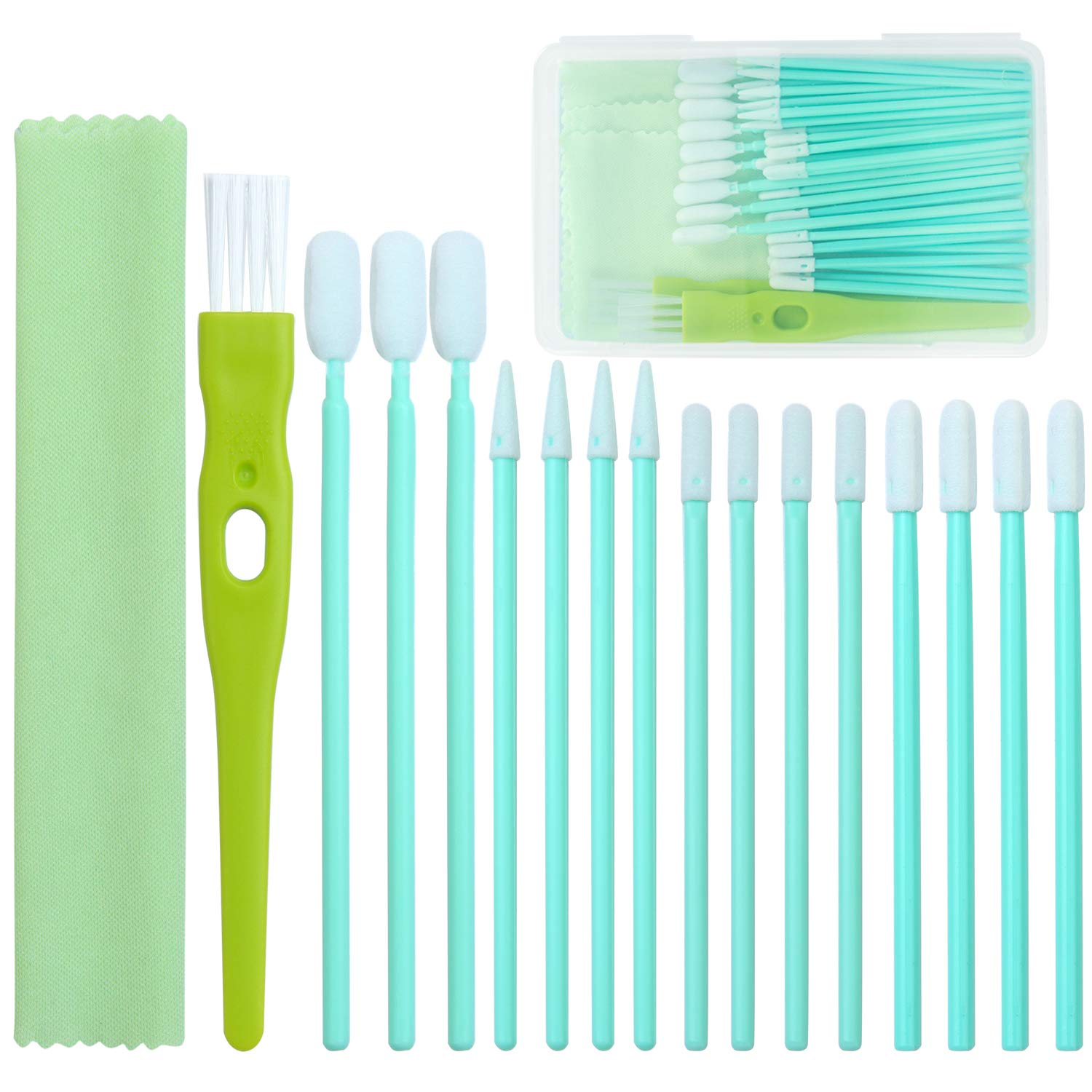 Aneco 44 Pieces Cell Phone Cleaning Kit Brush Set USB Charging Port and Headphone Jack Cleaner Compatible with iPhone, iOS Android, Cell Phone, Electronics Cleaner