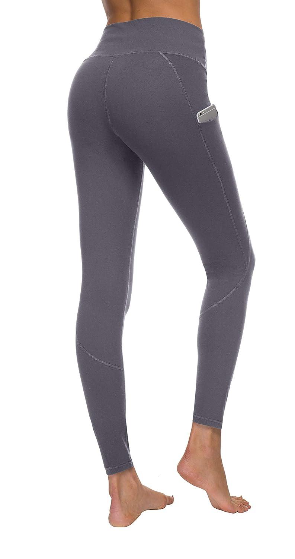 b47eb1f456 Amazon.com: HKJIEVSHOP Women's Pockets Yoga Pants, High Waist Yoga Pants  Workout 4-Way Stretch Leggings: Clothing