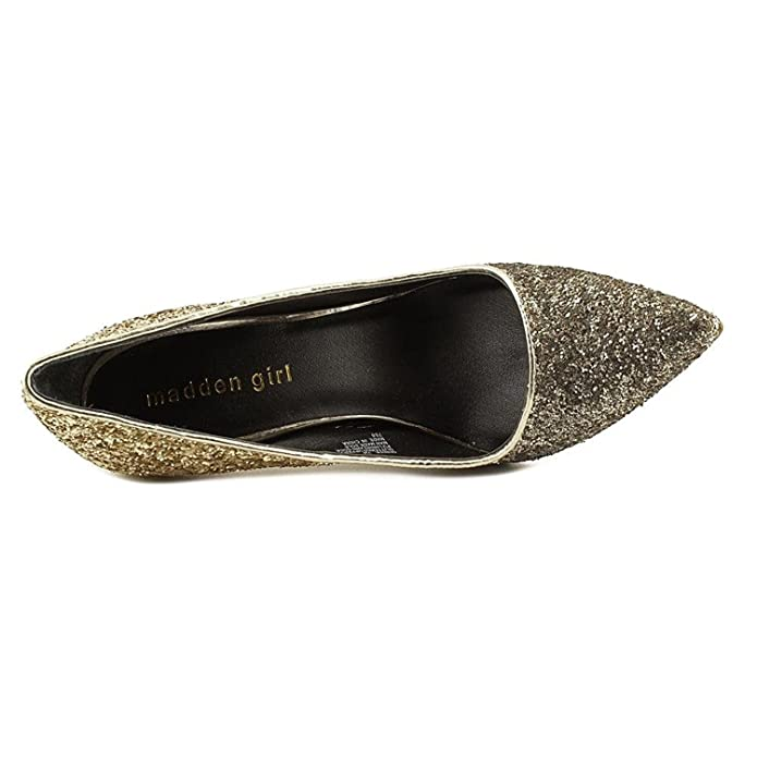 6ceff6fdafa Amazon.com | Madden Girl Womens Ohnice Pointed Toe Glitter Pumps ...