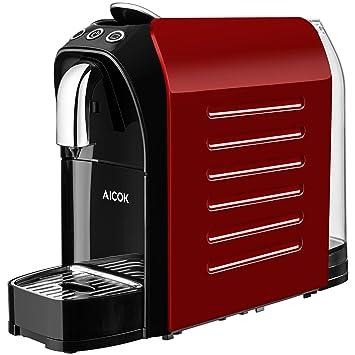 819f3f1b8391d7 Aicok Machine à Café Espresso 20 bars, Machine Nespresso Capsules pour  Espresso   Lungo Haute