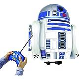 Dickie Toys - 201126006 - Control de Radio de Coche - R2-D2 - Star Wars Inflable - 65 Cm