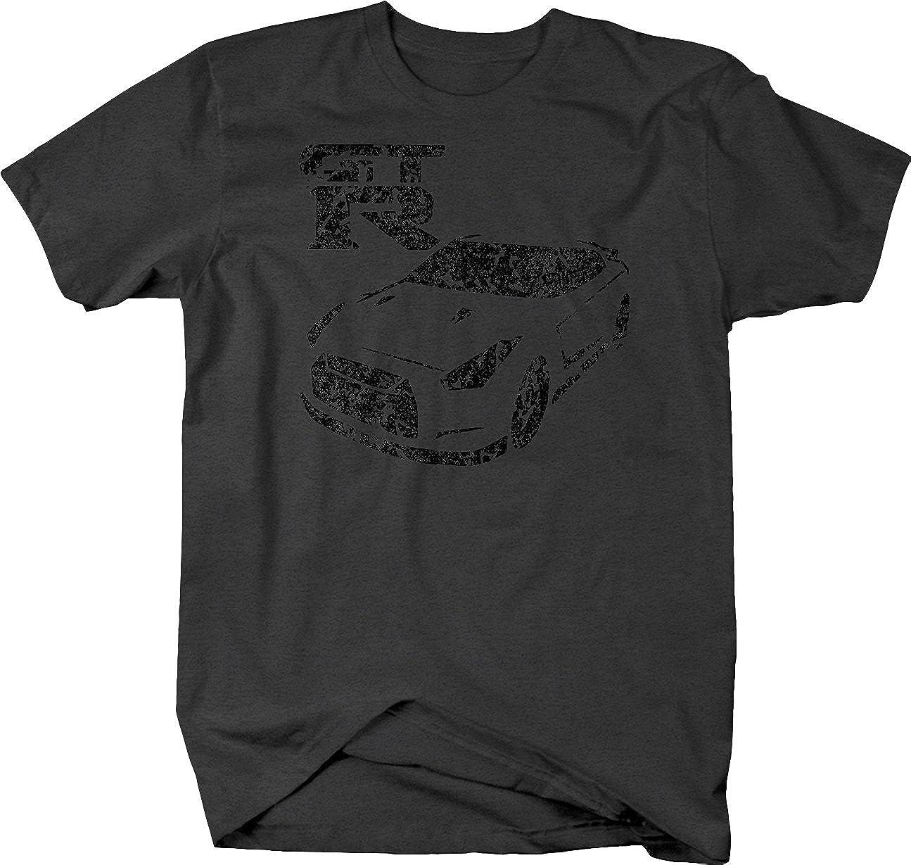 OS Gear Distressed Nissan GTR Godzilla Racing AWD Tshirt