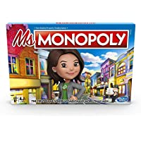 Monopoly Ms.Monopoly Board Game (Ages 8+)