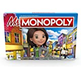 Ms Monopoly – Meet Miss Monopoly - Buy Inventions Created by Women – 2-6 Players – Kids and Family Board Games for Ages 8 +