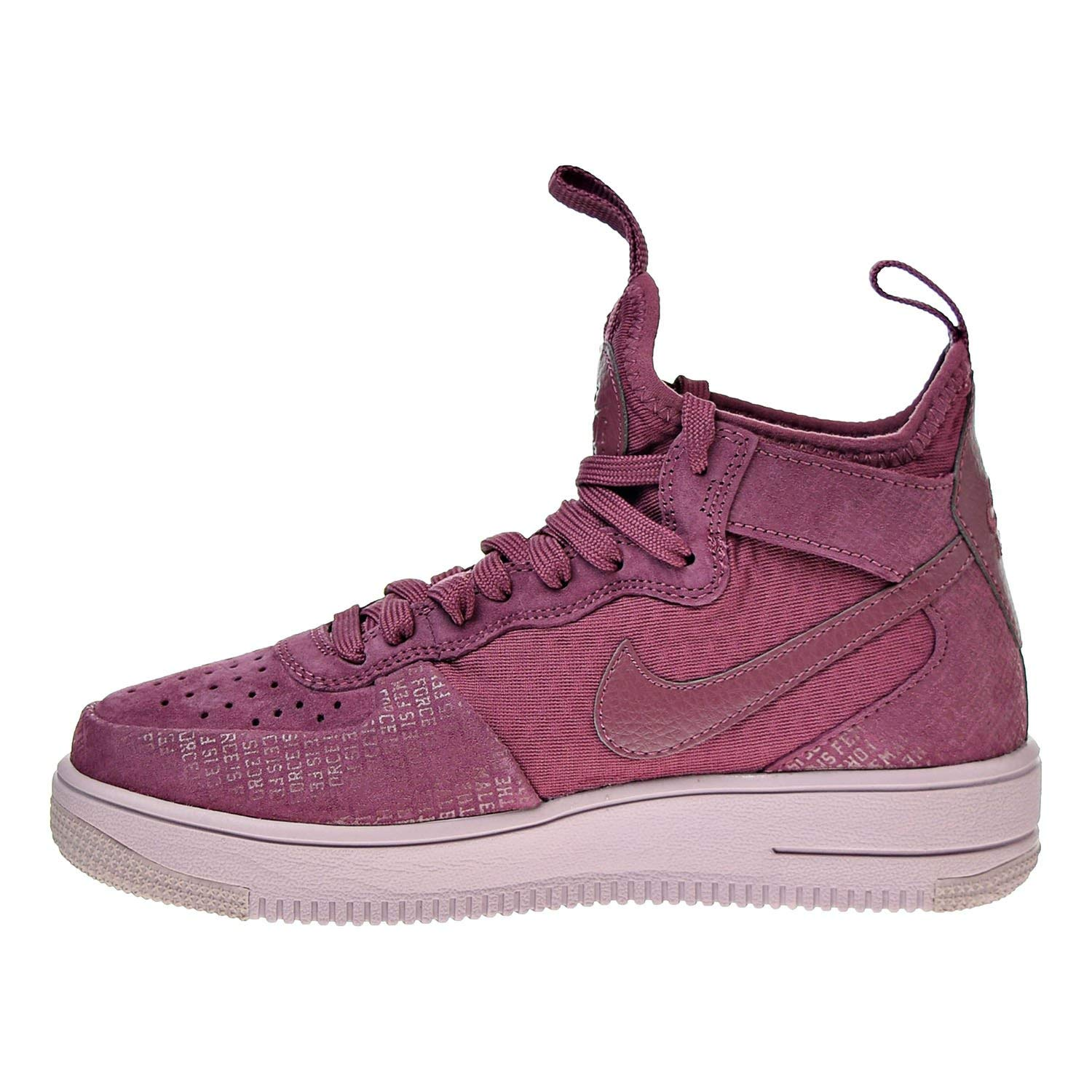 ec7b5e7f13 Nike Womens air Force 1 Ultra Force Hight Top Lace Up Running, Purple, Size  6.5 US / 4.5 UK US: Amazon.co.uk: Shoes & Bags