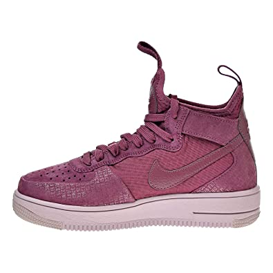 174b7384de876 Nike Womens air Force 1 Ultra Force Hight Top Lace Up Running, Purple, Size