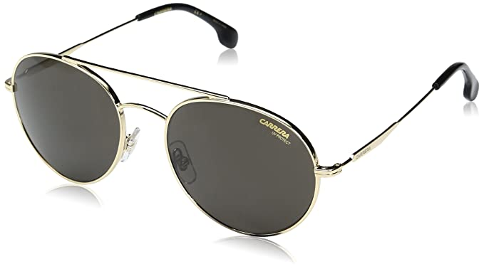 54d230be1 Amazon.com: Carrera Men's Ca131s Aviator Sunglasses, GOLD/GRAY BLUE ...