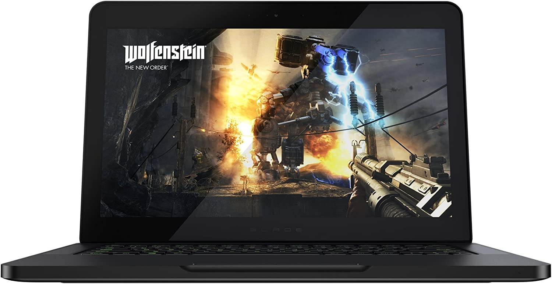 "Razer Blade RZ09-01161E32-R3U1 Touchscreen Gaming Laptop (Windows 8, Intel Core i7-4702HQ, 14"" LED-lit Screen, Storage: 512 GB, RAM: 8 GB) Black"