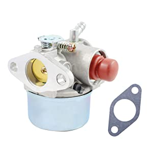 Pro Chaser Tecumseh 640350 640303 640271 Carburetor for Craftsman 5.5hp 6.0hp 6.5hp 6.75 hp Model 917.387282 Taro 20007 Lawn Mower 1990s Ariens Trimmer with Tecumseh LEV120-361076c Engine