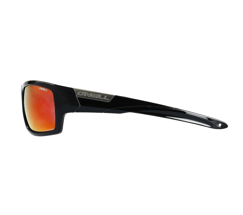 4a7311d53086b Amazon.com  O Neill Men s Sports wrap Around Polarized Sunglasses Gloss  Black 62 mm  Clothing