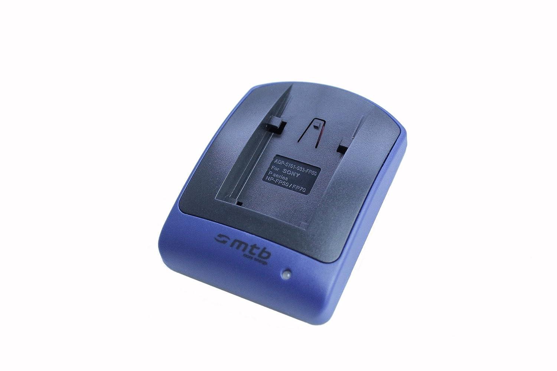 para Sony NP-FH50//FP-50//DSC-HX1 ver lista! HX200V//Alpha 330.//HDR-TG1 Cargador Micro-USB, sin cables//adaptadores HX100V