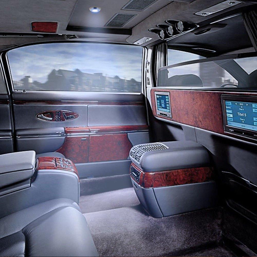 MASO 12V LED Ceiling Roof Light for Trailer//Van//Yacht//Boat//Caravan Interior 900Lumens Camperan Light