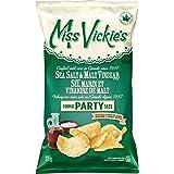 Miss Vickie's Sea Salt & Malt Vinegar Chips 275g/9.7 oz., {Imported From Canada}