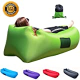 Easycouch Inflatable Lounger With Travel Bag,Waterproof Ripstop Polyester,Gift for indoor or outdoor