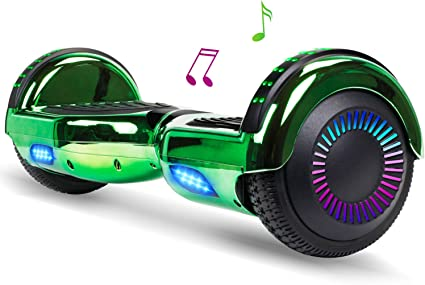 6.5/'/' Hoverboard With bluetooth Led Two Wheels Electric Scooter UL Certified New