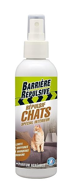 BARRIERE REPULSIVE chapret200 Repelente Gatos Interior Color Blanco 5 x 5 x 18.3 cm 200 ML: Amazon.es: Jardín