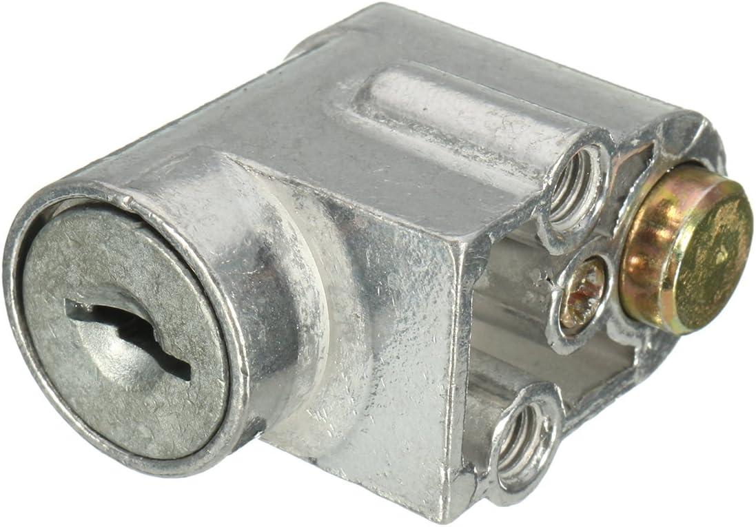 cl/é 2 Flushzing E Bike v/élo /électrique Moto Scooter Batterie dallumage Serrure /à Cylindre Serrure /à Cylindre de Batterie Interrupteur de s/écurit/é Verrouillage de la Batterie