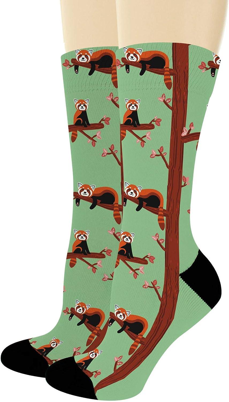 Red Panda Socks Red Panda Mens Socks Red Panda Womens Socks Red Panda Socks Cute Red Panda Socks Red Pandas