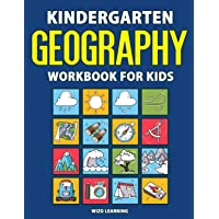 Kindergarten Geography Workbook for Kids: Learn & Explore With Daily Activities | 184 pages