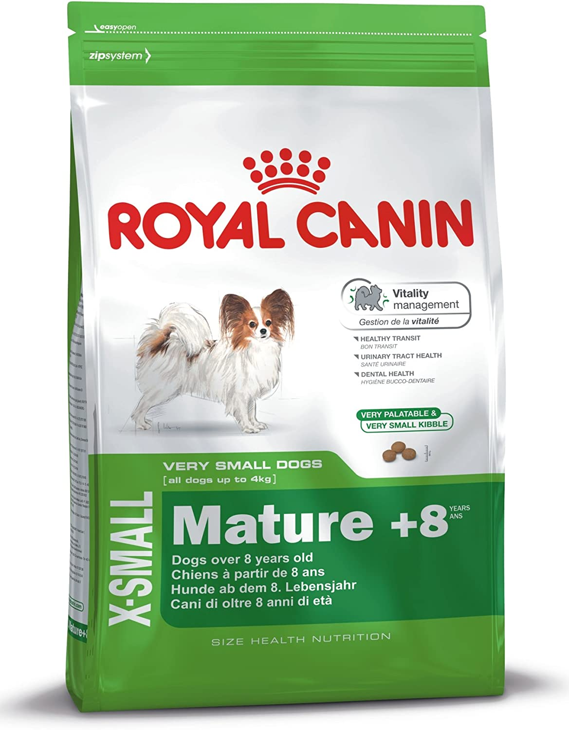 Royal canin X-small Mature +8 pienso para perros mini/toy