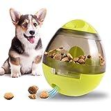 Hunde Intelligenzspielzeug Wobbler, Robustes Hundespielzeug Futterball Befüllbar mit Snacks, Interaktives IQ Treat Training Ball Hundefutter Spielzeug für Haustier Hunde & Katzen