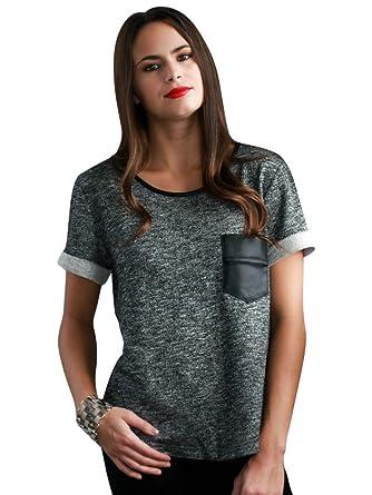 c0d14d6617e3 Social Butterfly House Women s Rule Breaker Pocket Sweater Top Small Black