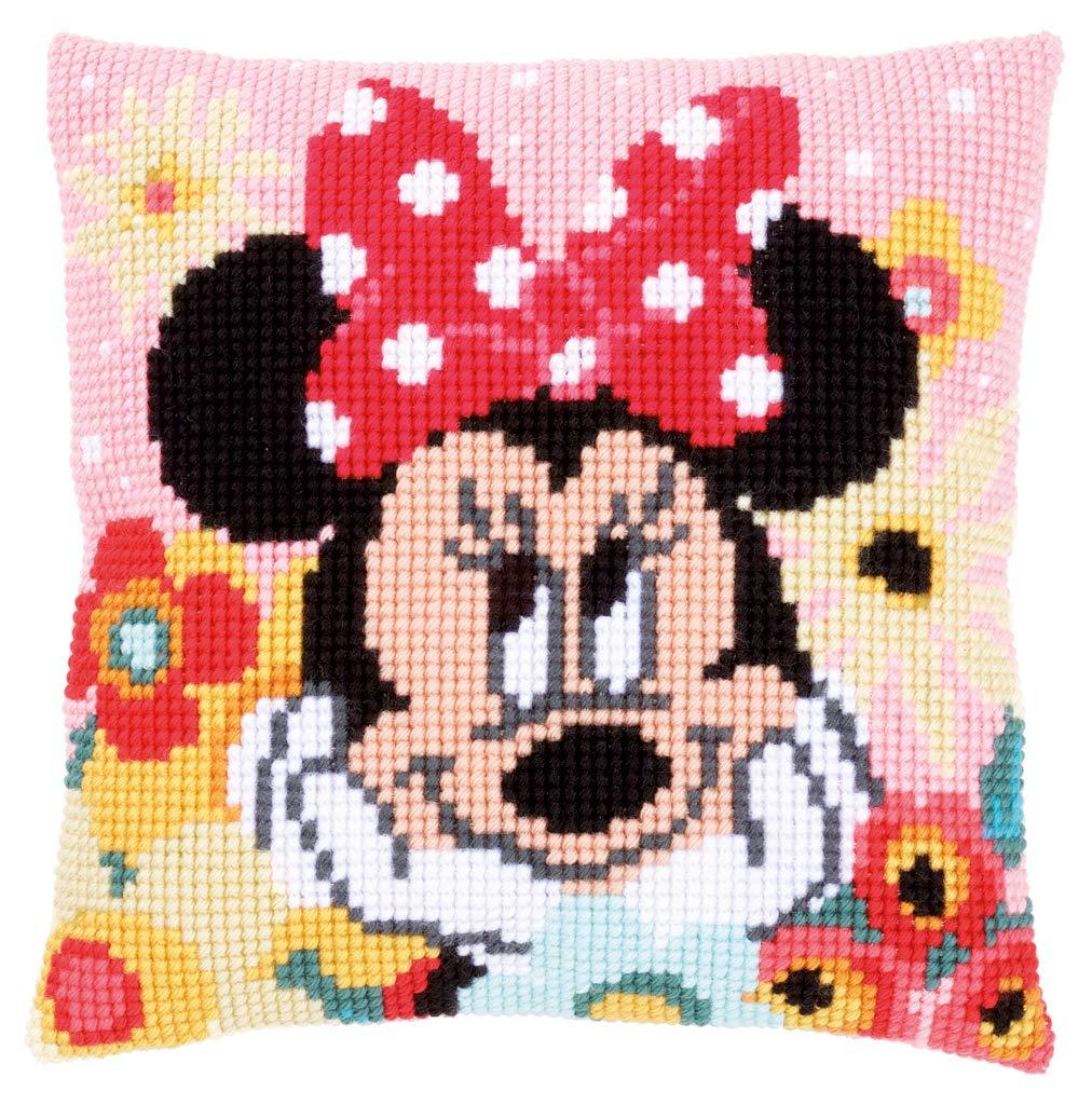 Amazon.com: Disneys Minnie Mouse Daydreaming Cross Stitch ...