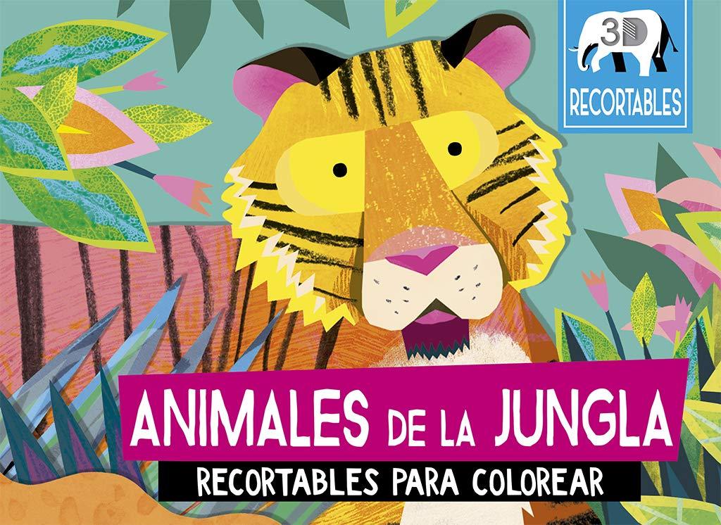 Animales de la jungla (recortables 3D) (Picarona)