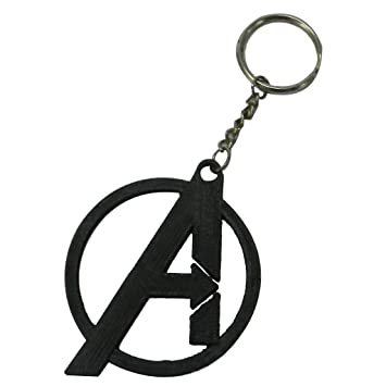 Tesseract Avengers Keychain Black Colour  Amazon.in  Bags f175a6e57