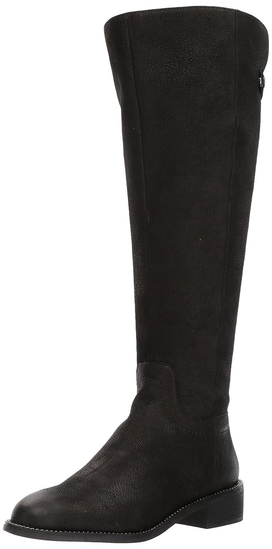 Franco Sarto Women's Brindley Wide Calf Fashion Boot B06Y3JNVCL 9 B(M) US|Black/Black