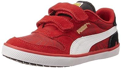 54a638b0 Puma Boy's Icra Trainer Vulc NL Superman V Kids Sneakers