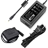 F1TP DMW-DCC8 DMW-AC10 AC Power Supply Adapter Dummy Battery Charger Kit Replace DMW-BLC12 Battery for Panasonic Lumix FZ200