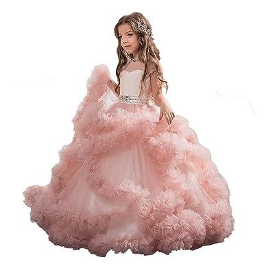 Aurora dresses Aurora dresses Mädchen Rüschen Blumenmädchen Kleider ...
