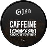 Beardo Caffeine De-Tan Face Scrub (100 gm)