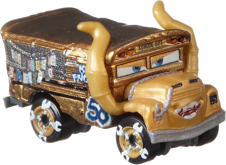 Disney Cars Mini Racers Derby Racers Pack de 10 coches de juguete, modelos surtidos (Mattel GKG09): Amazon.es: Juguetes y juegos