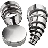 Round Cookie Biscuit Cutter Set 12 Circular Cookie Cutters Round Donut Cutter Stainless Steel Ring Molds for Cooking