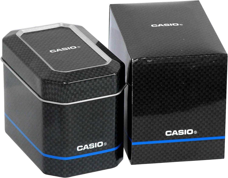 Casio WAVE CEPTOR Reloj Radiocontrolado y solar, Cristal de zafiro, Caja de titanio macizo, Negro, para Hombre, con Correa de Titanio macizo, LCW-M100TSE-1AER: Amazon.es: Relojes