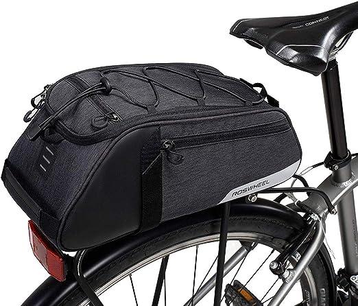 Paquete de estante trasero para bicicleta,de bicicleta trasera ...