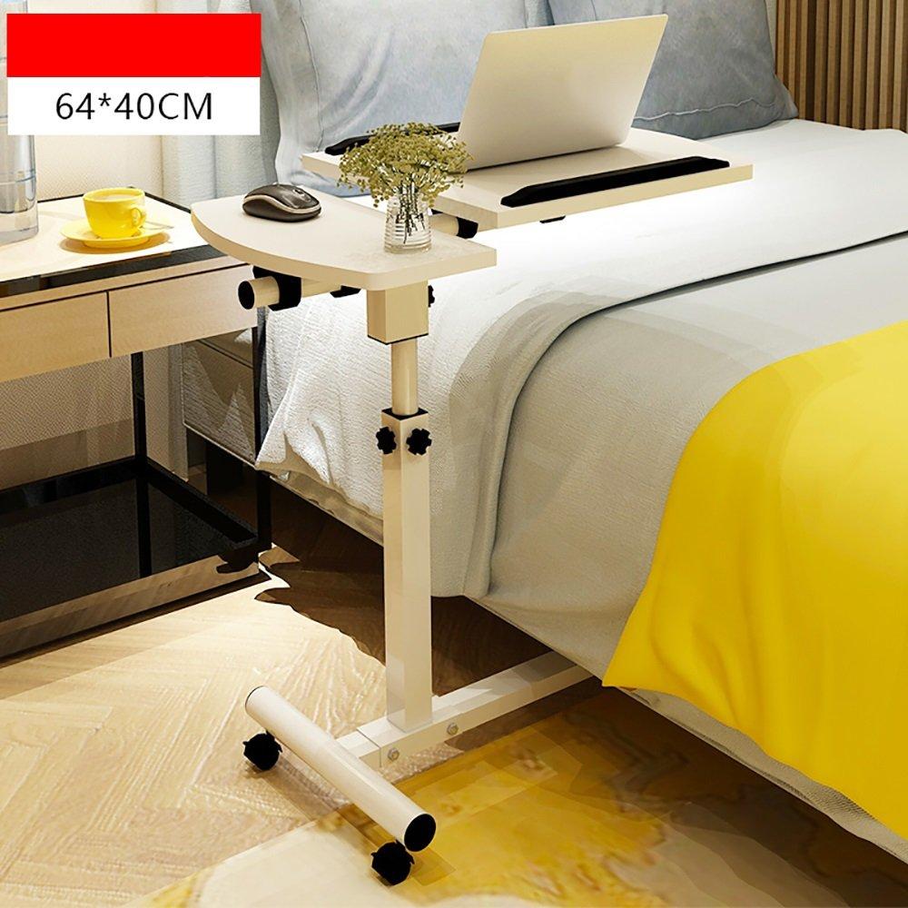 YMXLJF Einfacher Laptoptisch, hebbarer Nachttisch, Lazy Desk, klappbarer Nachttisch, hebbarer (Farbe   A, größe   6 ) 507285
