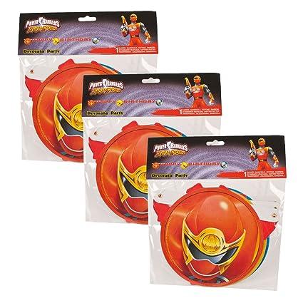 Globo de aluminio Amscan International 3440601 Power Rangers