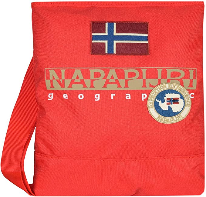 Napapijri north cape small crossover (ROSSO)  Amazon.it  Scarpe e borse 443904a29f2