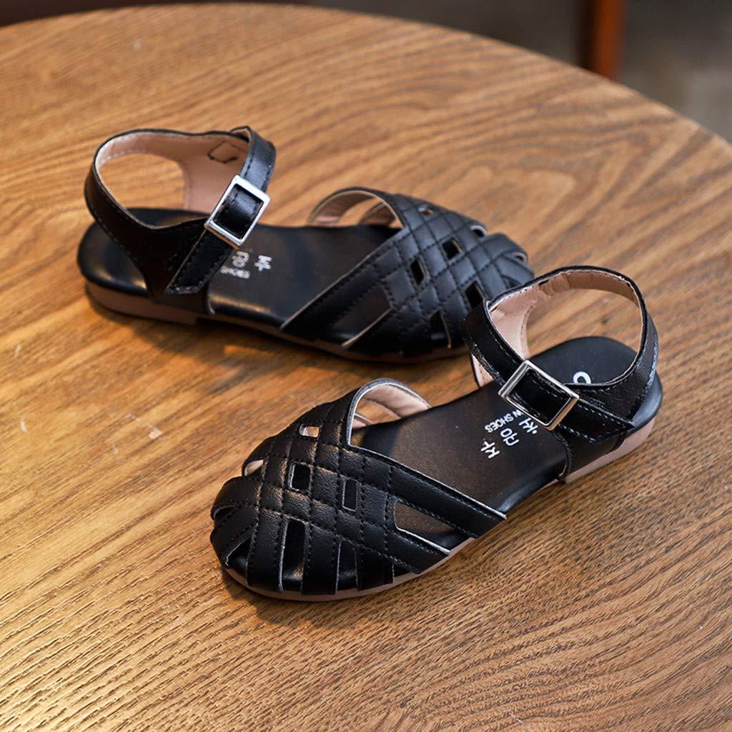 DIASTR Chaussures B/éb/é Fille Sandales Cuir Souple /Ét/é Mode Romain Chaussures Premiers Pas Sanctifier Chaussures Premiers Pas