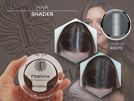 Fidentia Maquillaje Capilar - Corrector de Pelo - Retoca las raíces, canas y la pérdida de cabello al instante: Amazon.es: Belleza