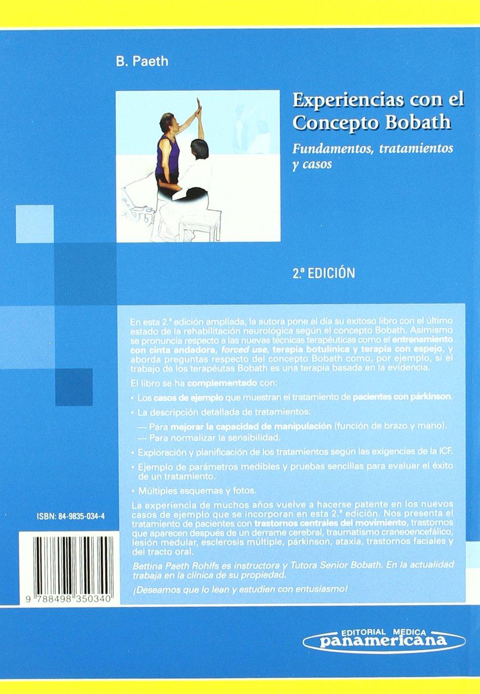 libro experiencia en el concepto bobath