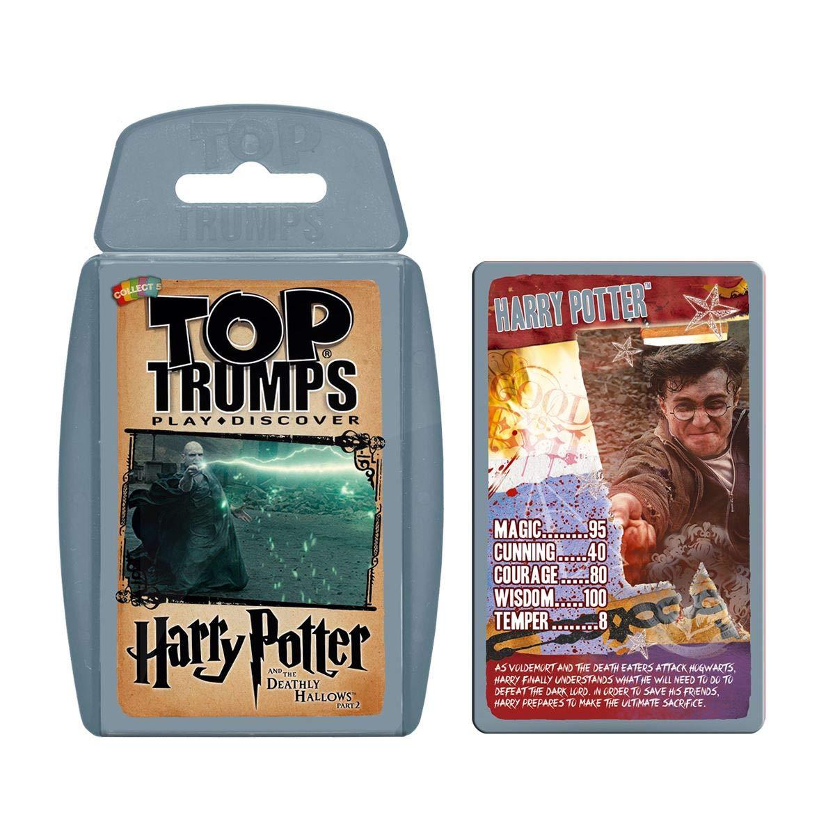 Top Trumps Harry Potter 6-8 Card Game Bundle