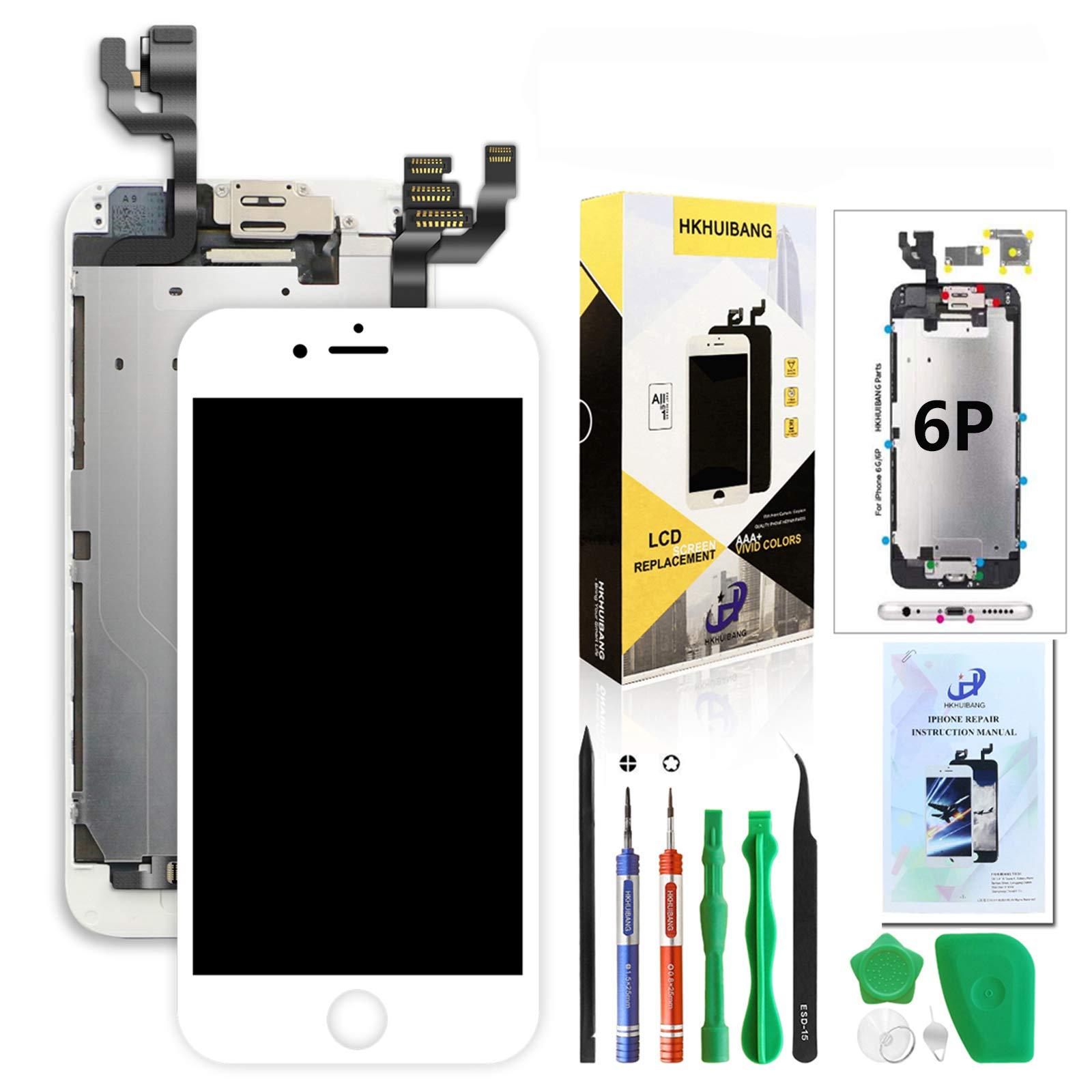 Modulo LCD Blanco para IPhone 6 Plus 5.5 Inch  -276