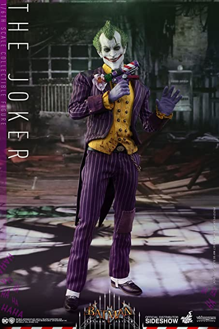 642a56049990 Hot Toys DC Comics Batman Arkham Asylum The Joker 1 6 Scale 12 quot  ...